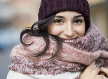 Cold - Smiling Woman